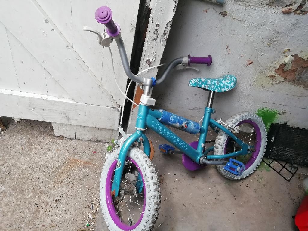 Frozen Kids Bike