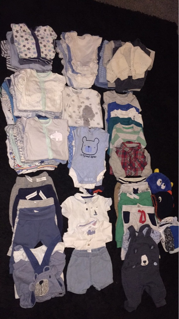 Baby boys bundle! 100 items