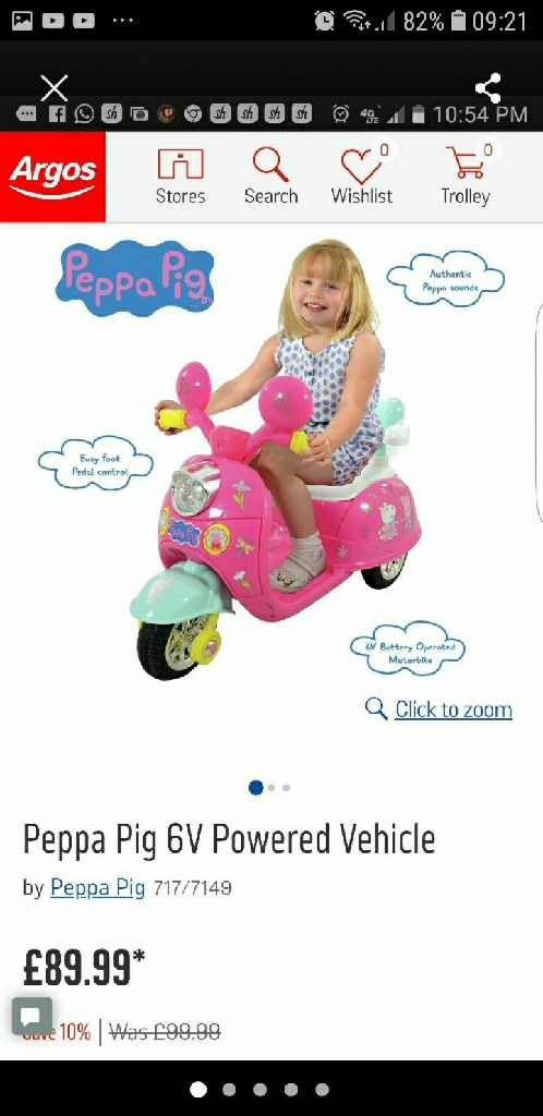 Peppa pig Vehicle