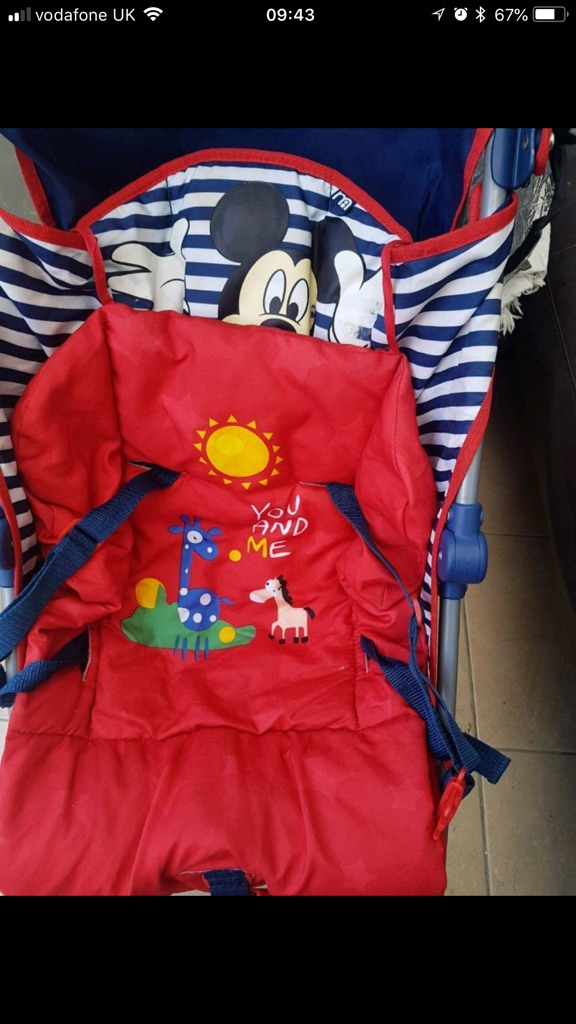 Mother are Disney stroller