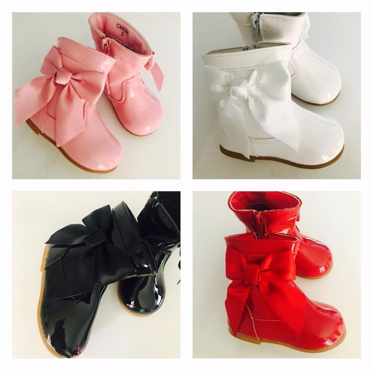 Children's Spanish Bow Boots