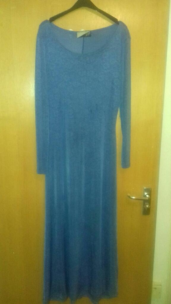Long Sleave Maxi Dress Onesize