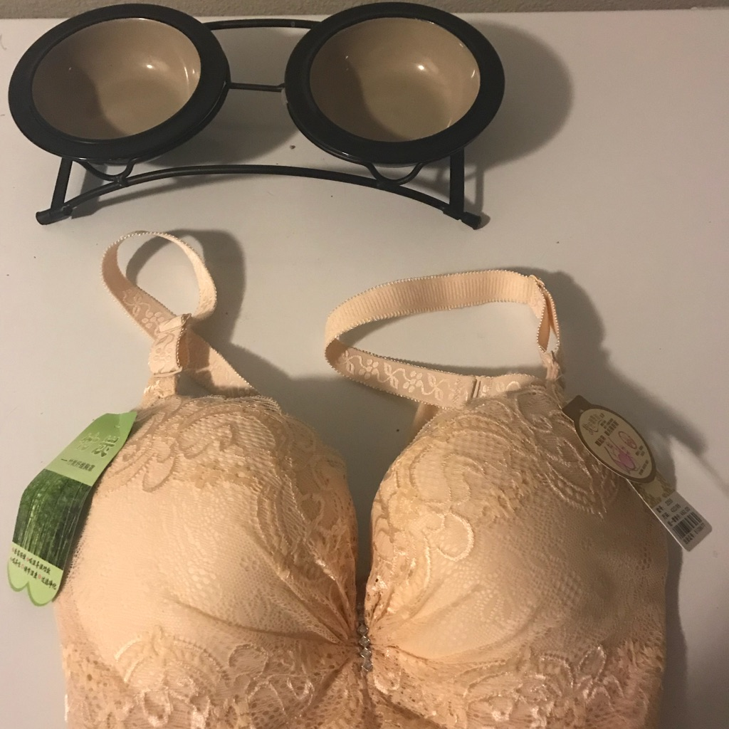Plus size underwire push-up bra
