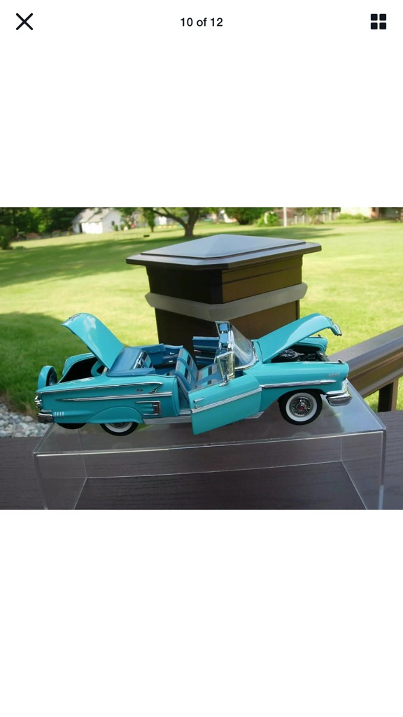 Danberry mint 1958 Chevrolet impala