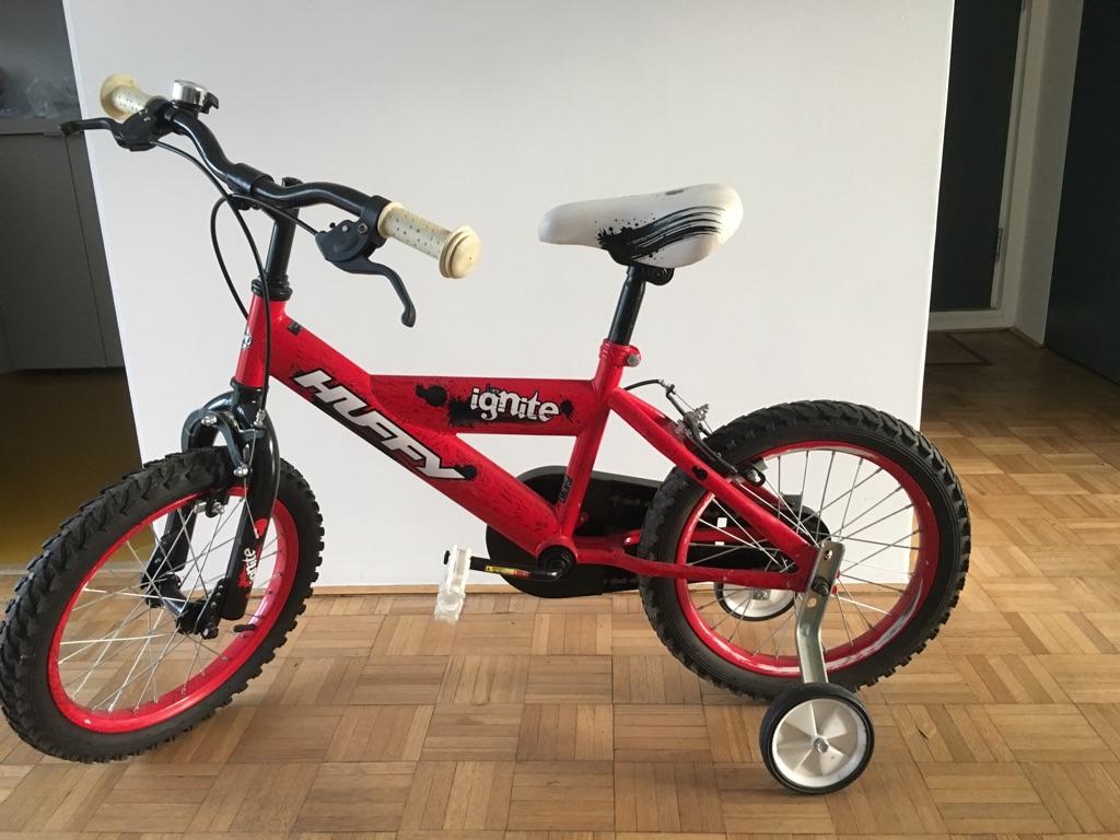 "Huffy Ignite 16"" child's used bike"