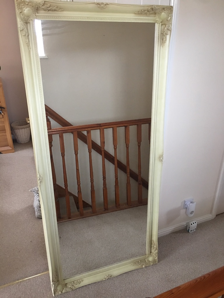 6ft shabby chic mirror