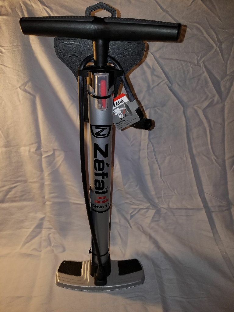 Zefal High Power Sport 1.0 Floor Bike Pump