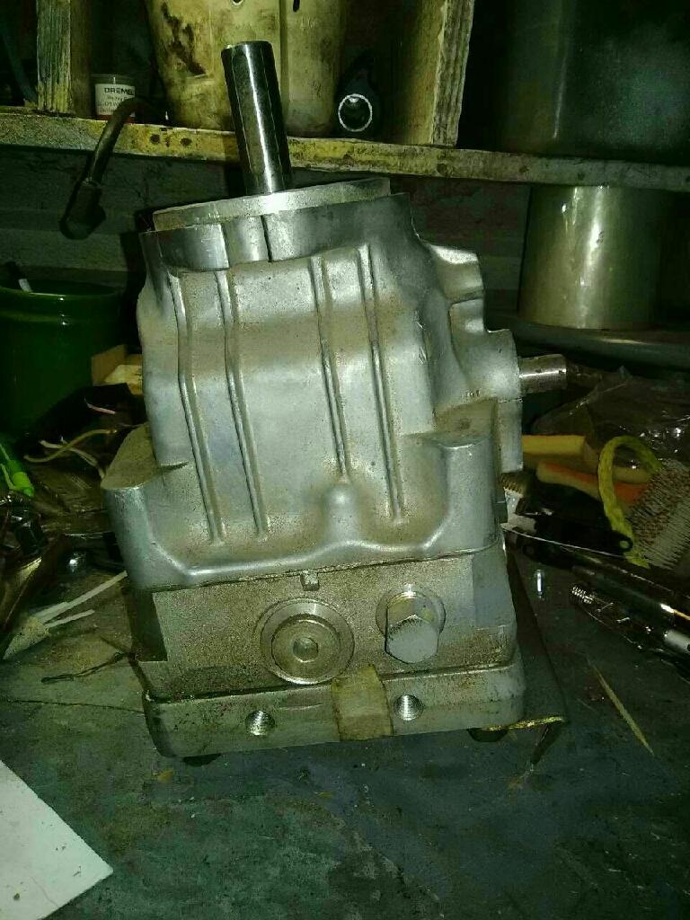 Hydro gear hydraulics motor