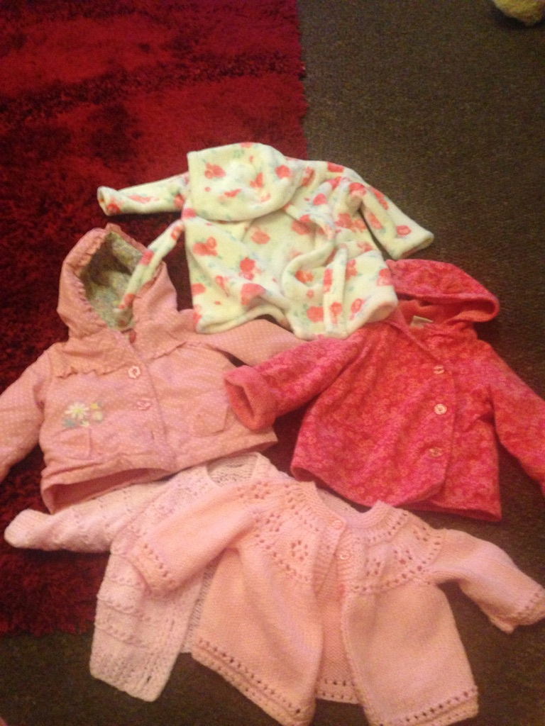0-3 3-6 month baby girl bundle