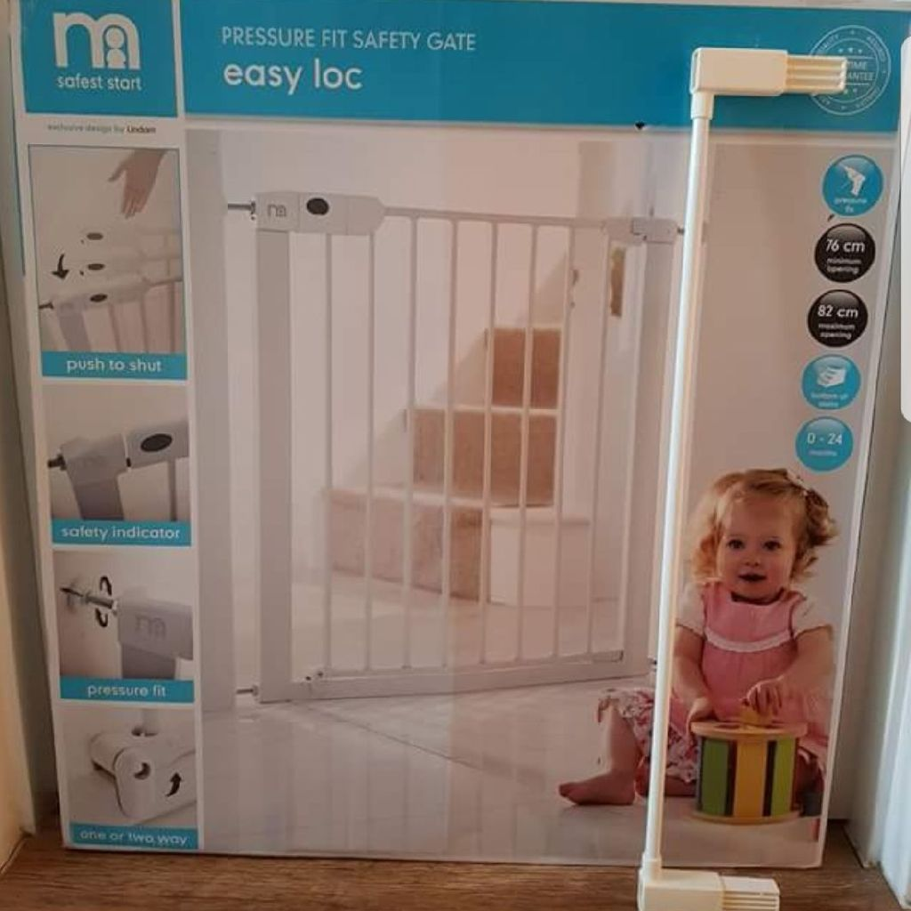 Mothercare Easy-loc Pressure Fit Baby Safety Gate