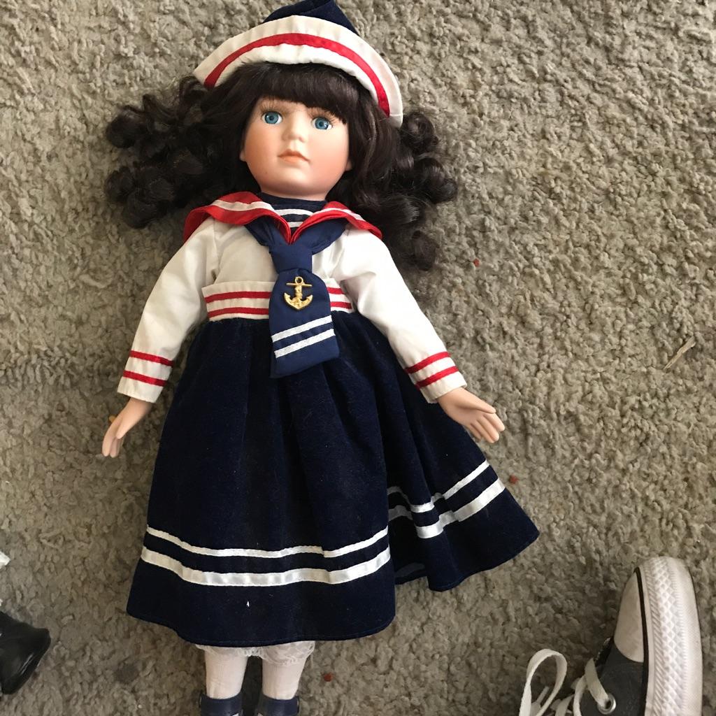 Sailor Porcelain Doll