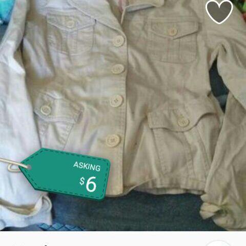 Beige dress jacket
