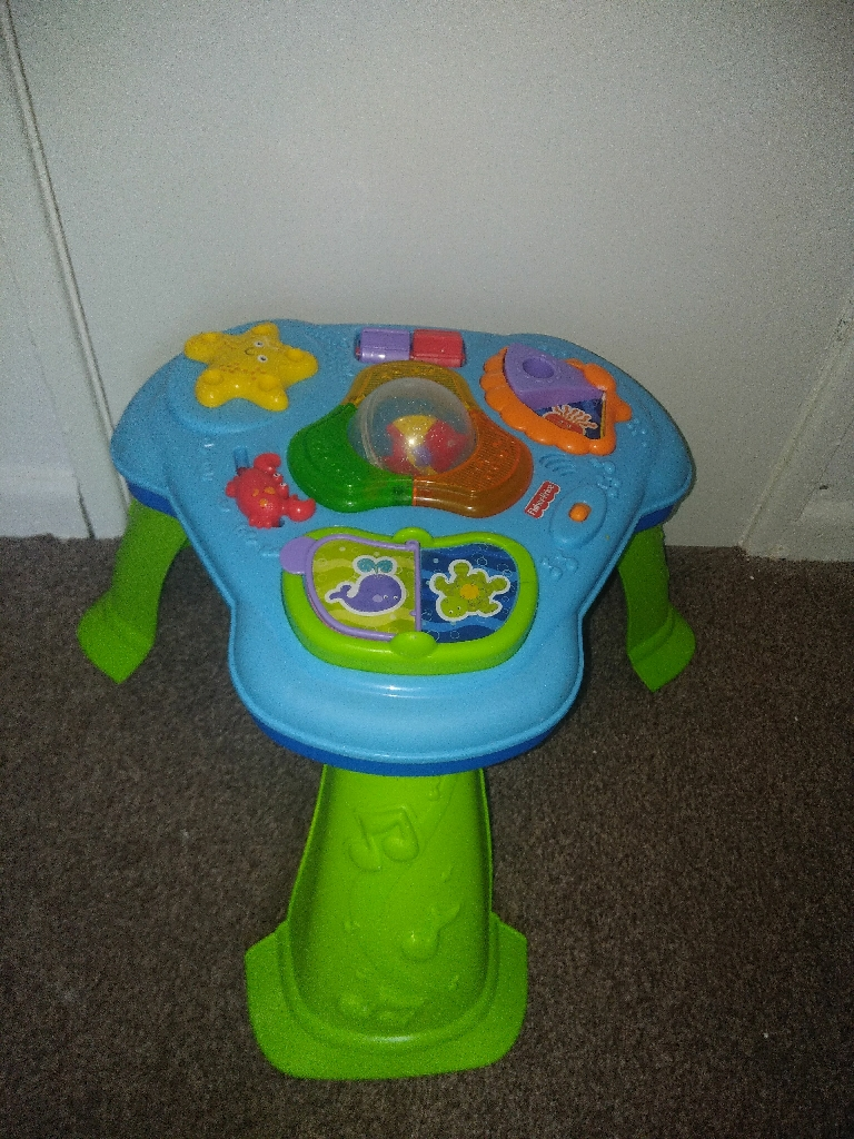 Bouncing frog  activity table and horse