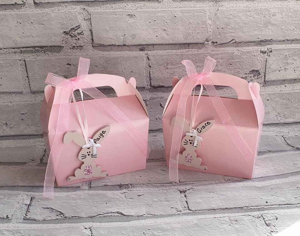 Personalised Bunny boxes