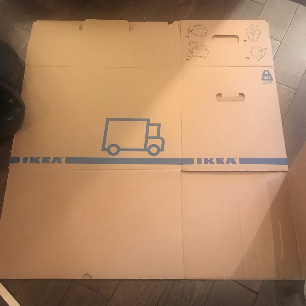 IKEA moving boxes (6) - large