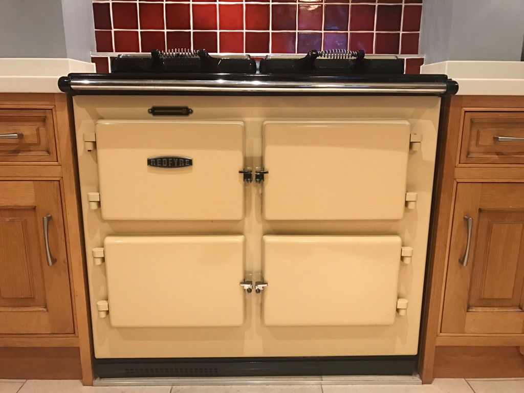 Aga Redfyre range cooker