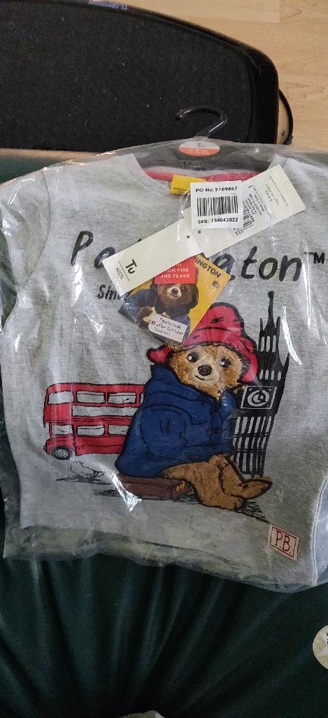 Tu paddington bear long sleeve t-shirt