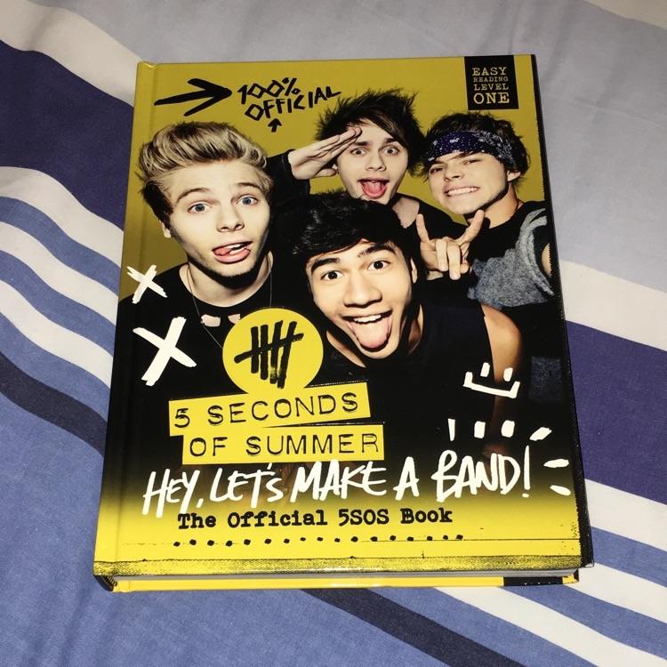 5 seconds of summer book