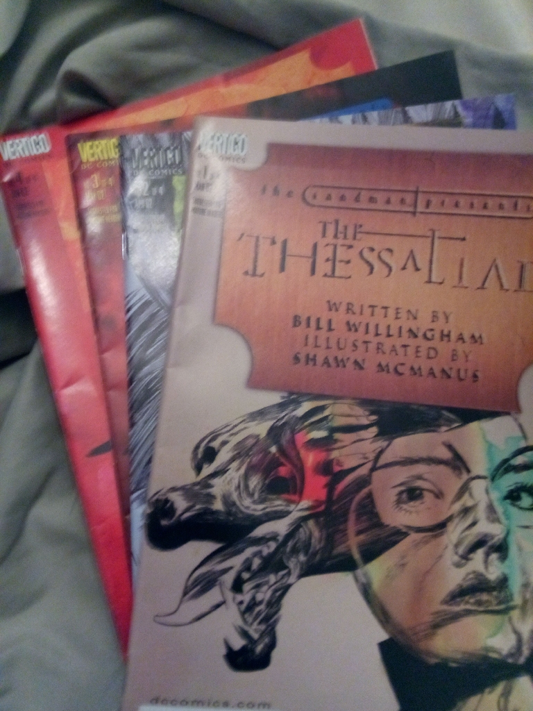 The Sandman Presents:The Thessaliad