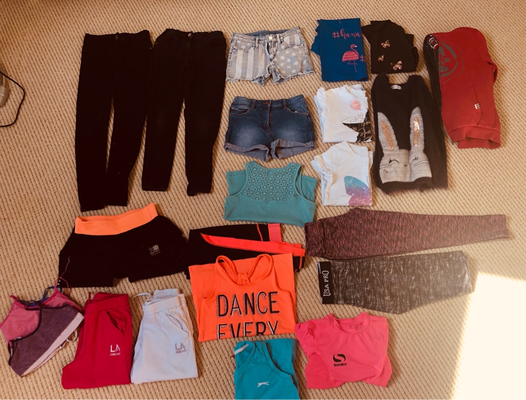 Girls clothes bundle age 8-10