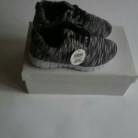 Urban jacks boys trainers  sizes 8 and 10 available
