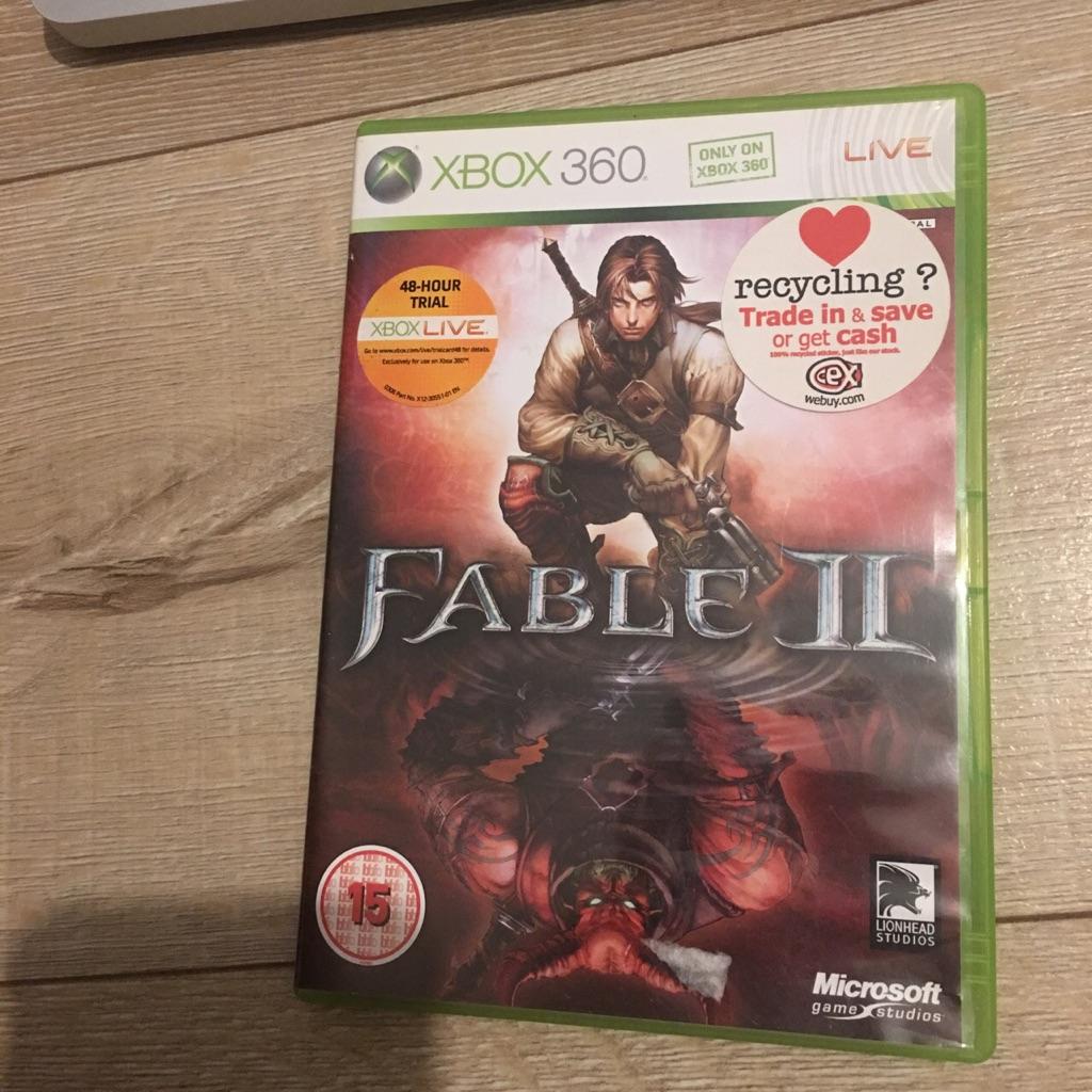 Fable II (2) Xbox 360 game