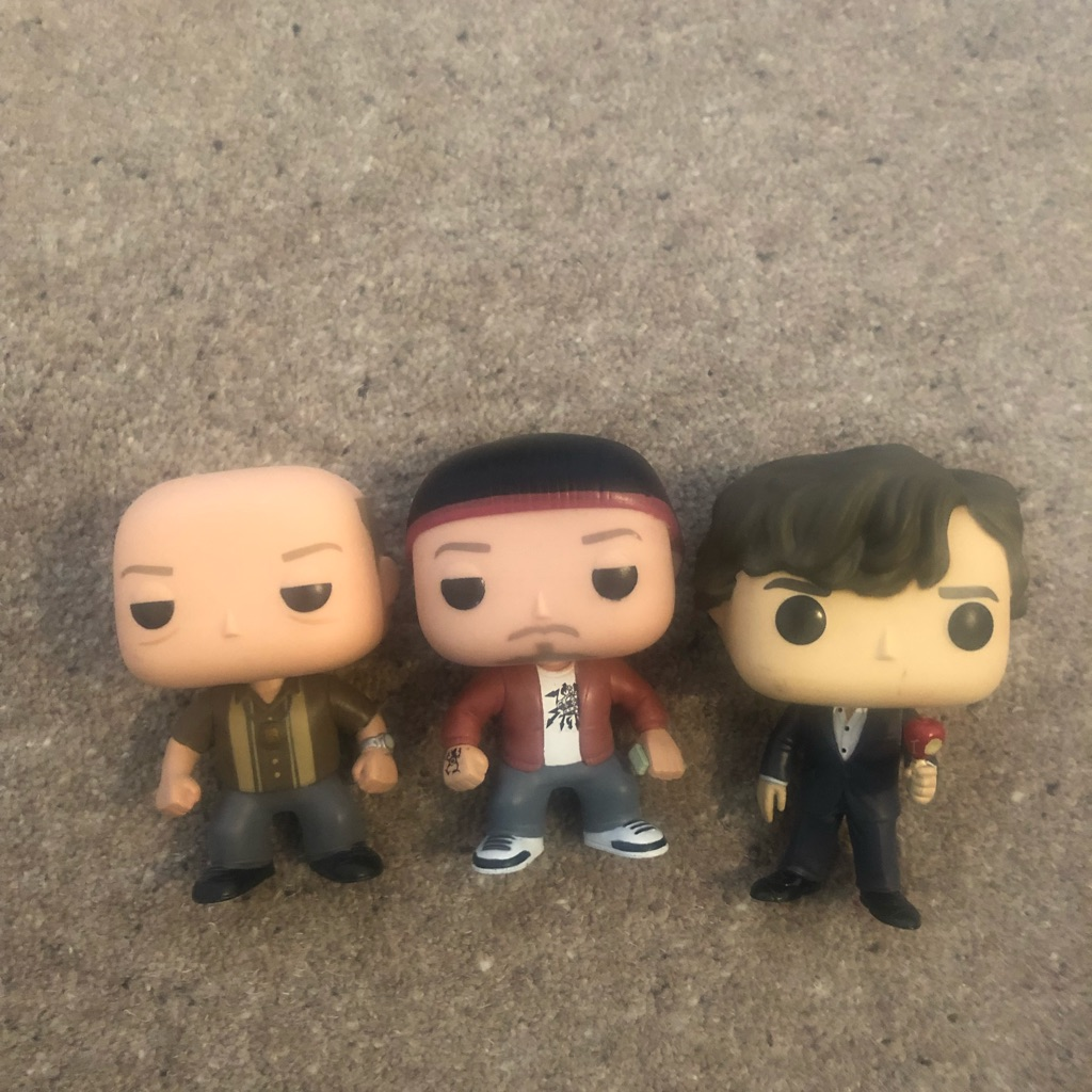 SELECTION OF 3 POP FUNKOS