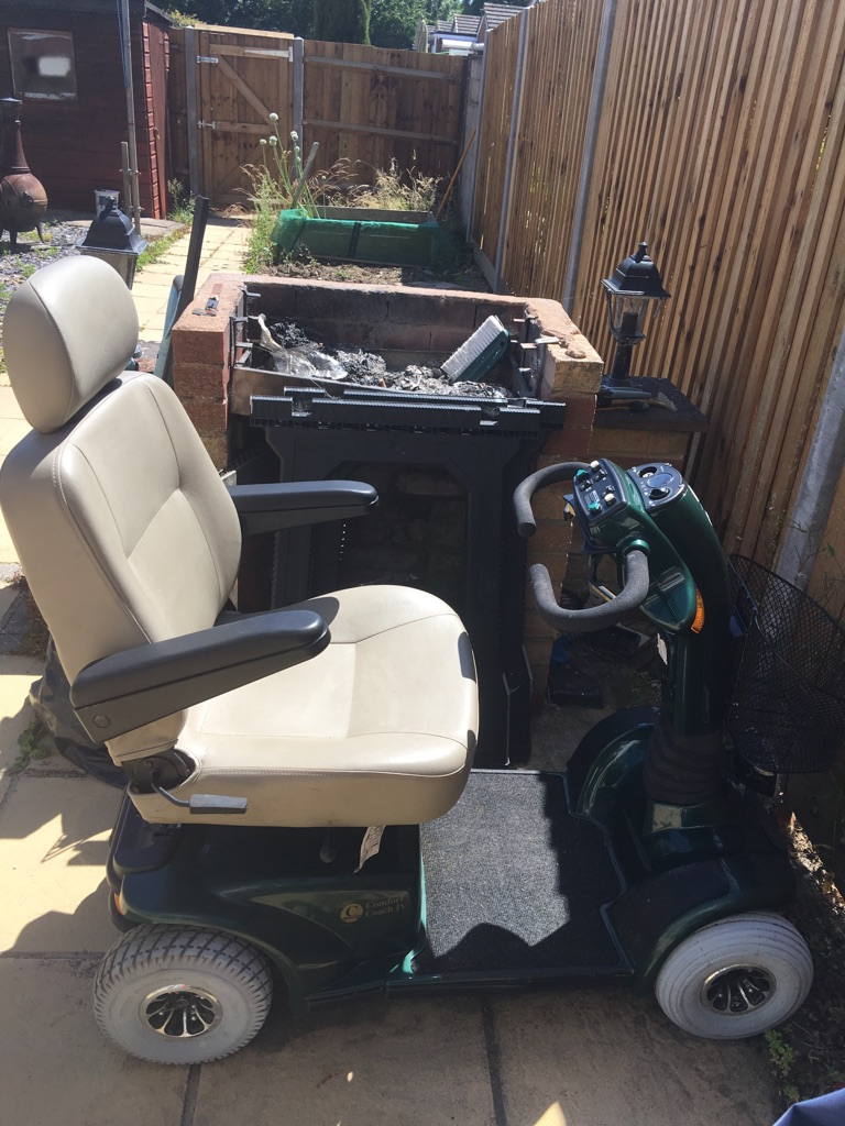 Mobility Scooter Comfort Coach