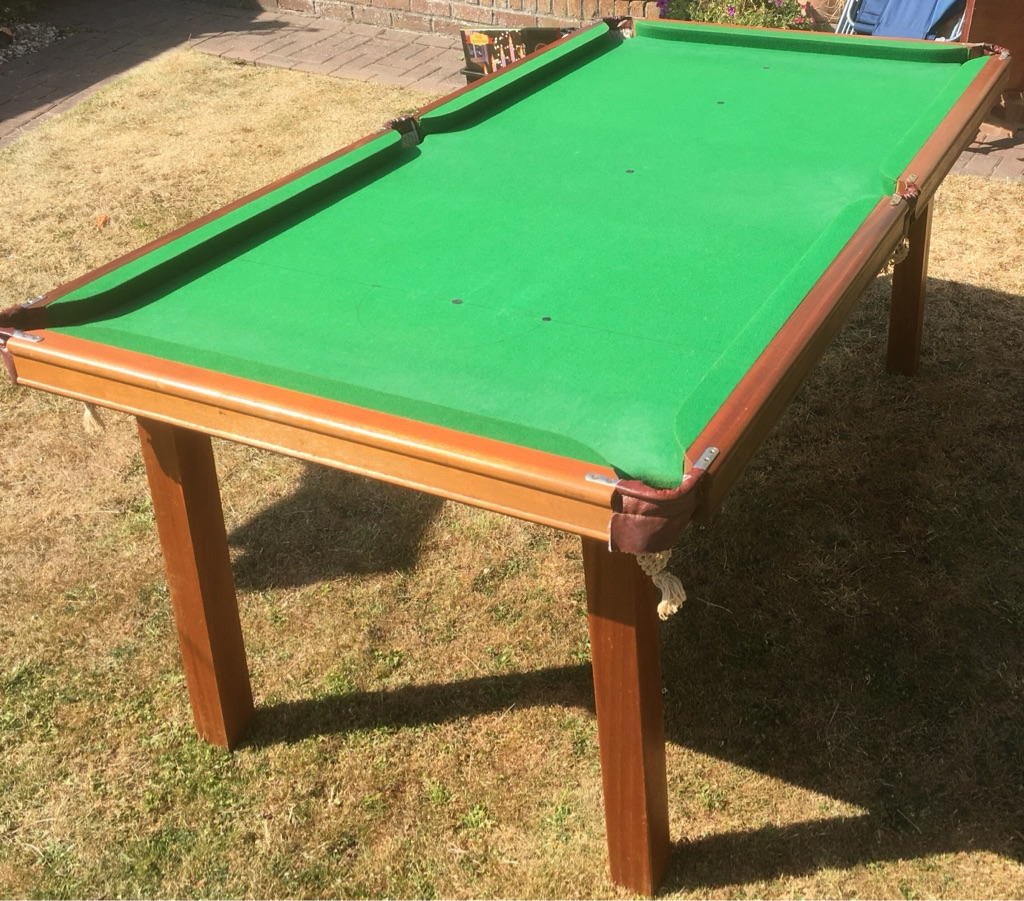 Snooker table 3/4 Slate bed