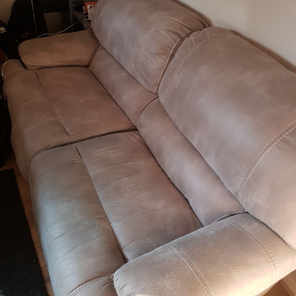 Large sofa light grey