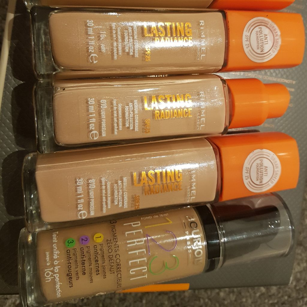 Rimmel and boujous foundation. New. £4 each or 3 for £10