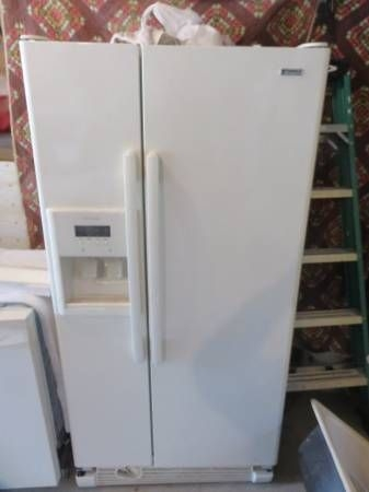 Kenmore side by side refrigerator