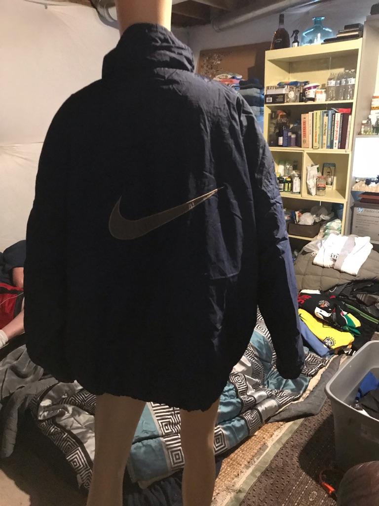 Nike Reversible Puffer Bomber Jacket