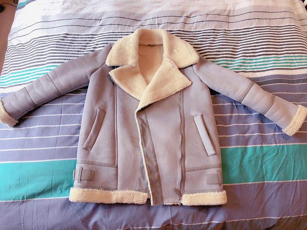 Cozy Zara Chamois Jacket
