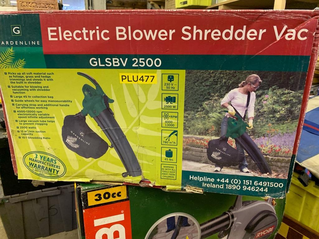 Garden line Electric Leaf Blower, Shredder & Vacuum