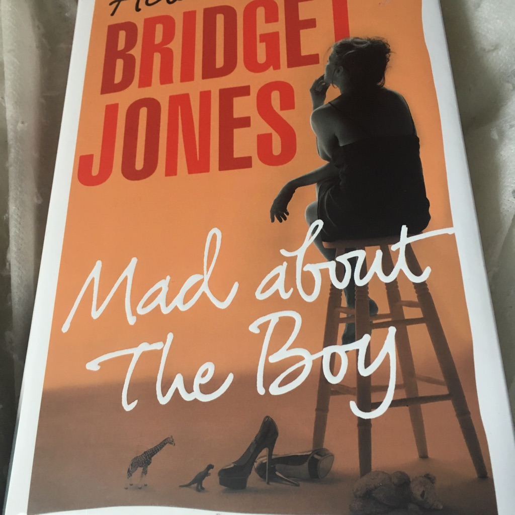 Bridget Jones about the boy book