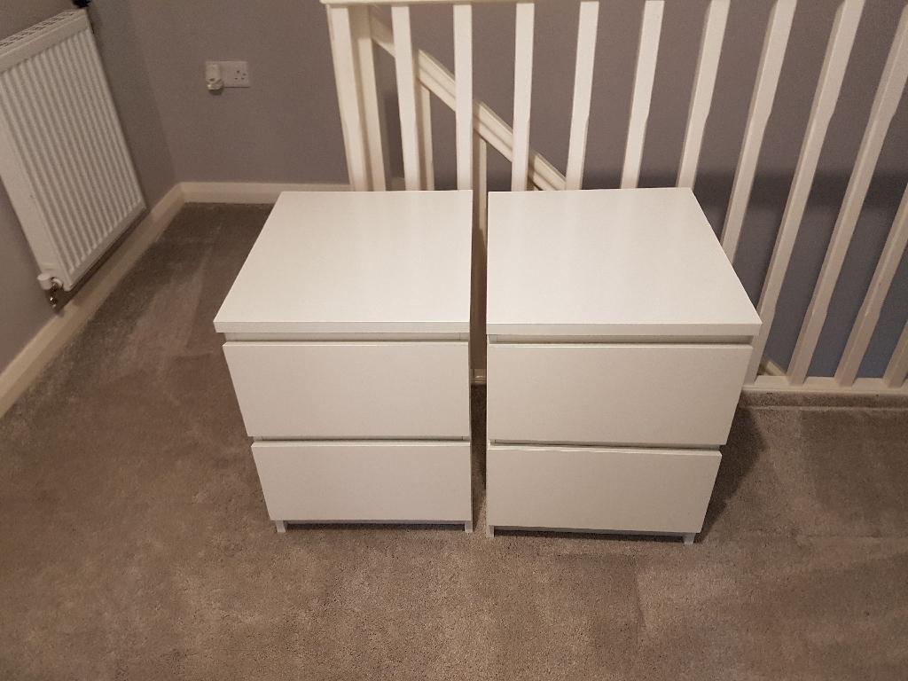 Ikea bedside tables