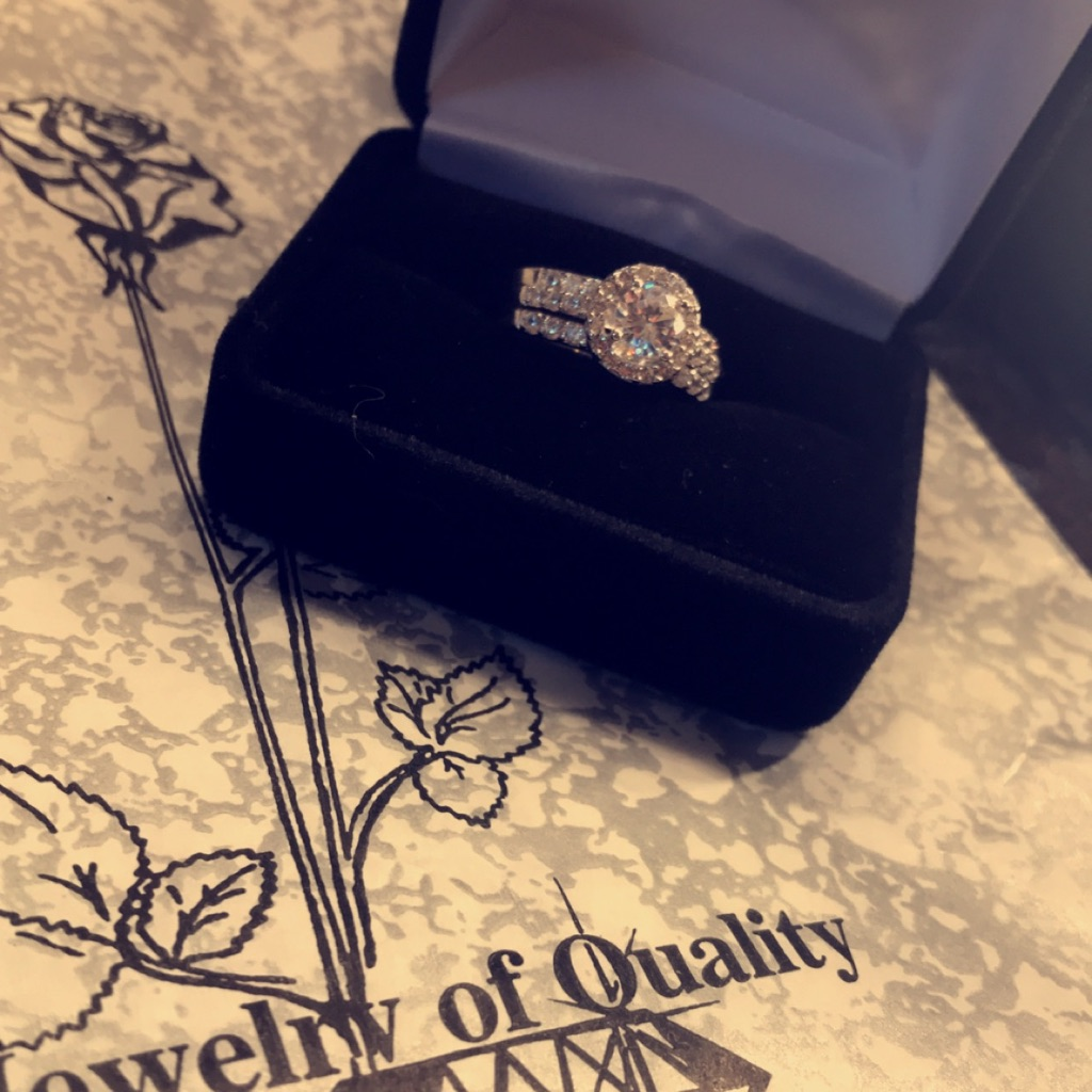 3 piece Engagement Ring