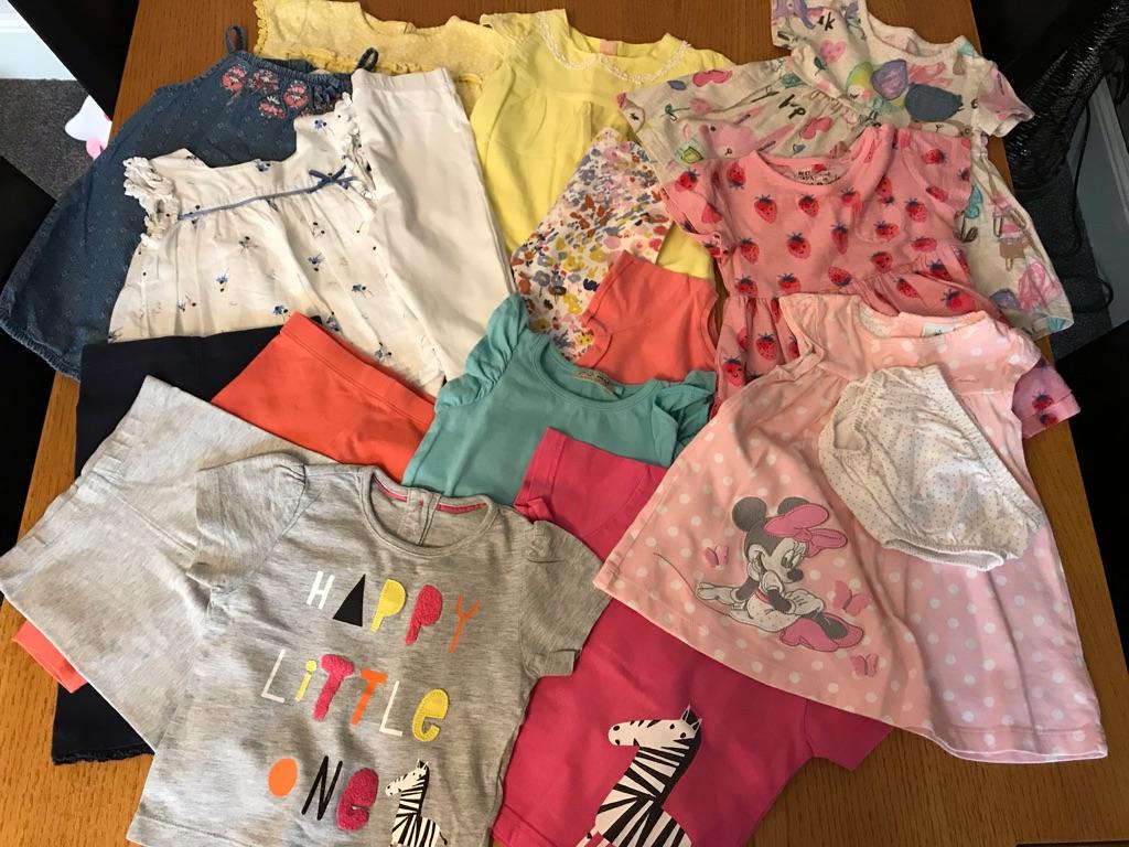 Baby girl 6 to 9 bundle