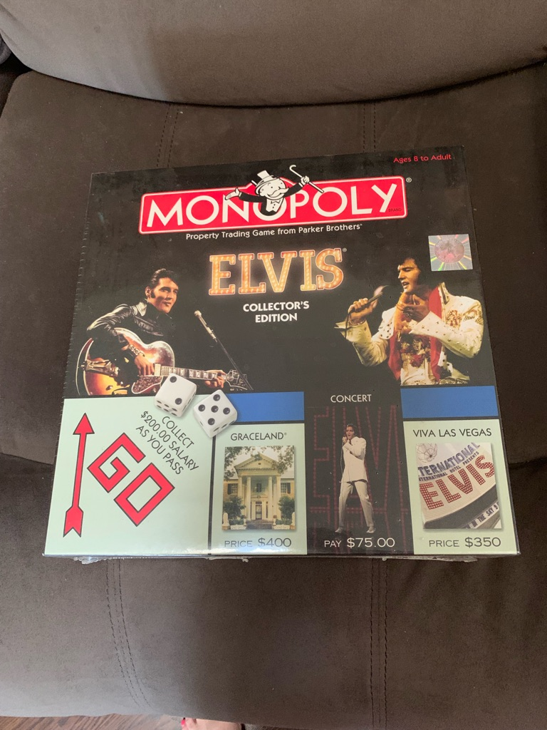 Elvis special edition monopoly collection