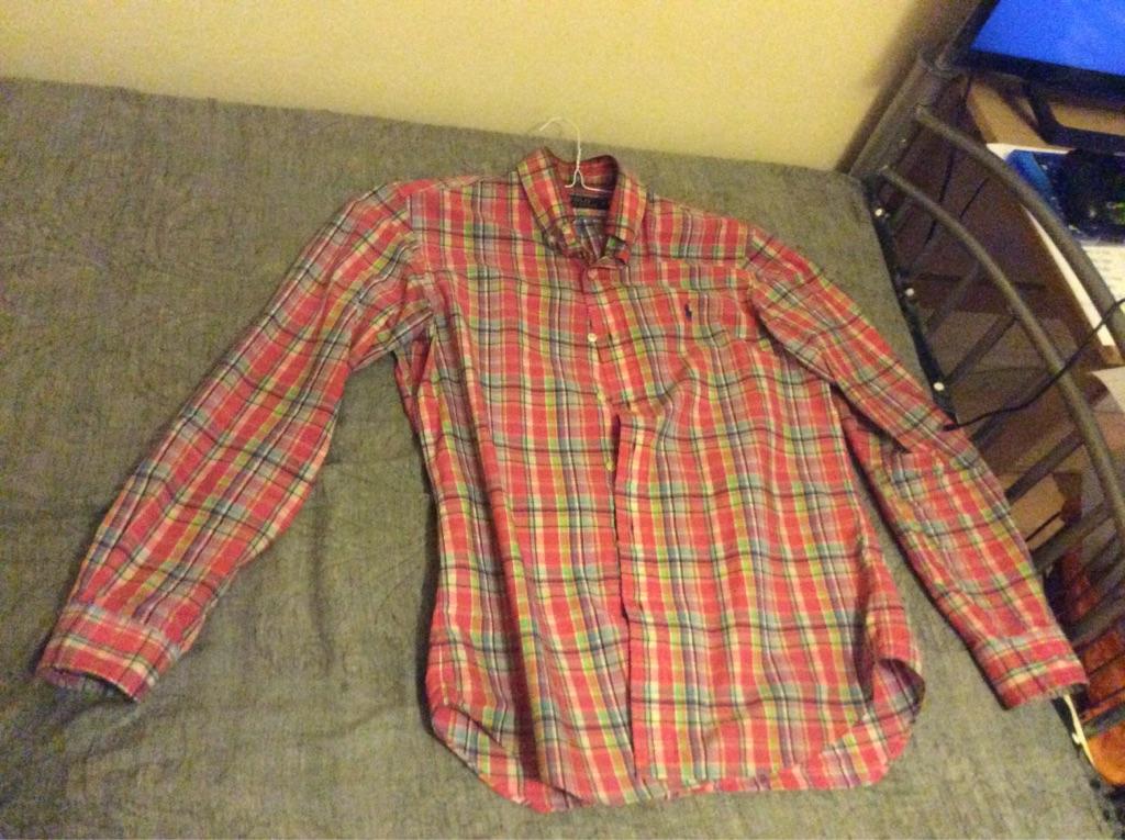 3 Ralph Lauren Custom Fit Long Sleeve Shirt