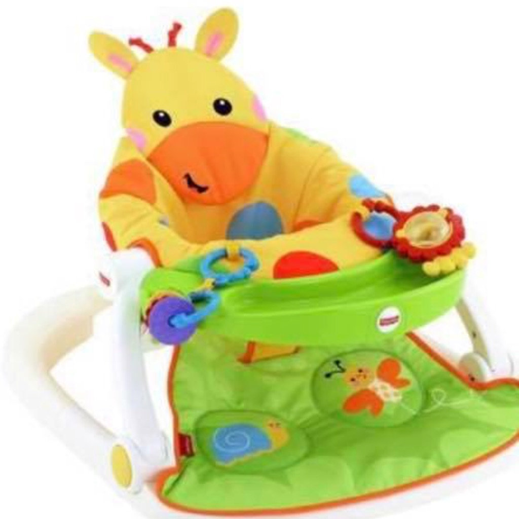 Fisher price, sit me & giraffe chair