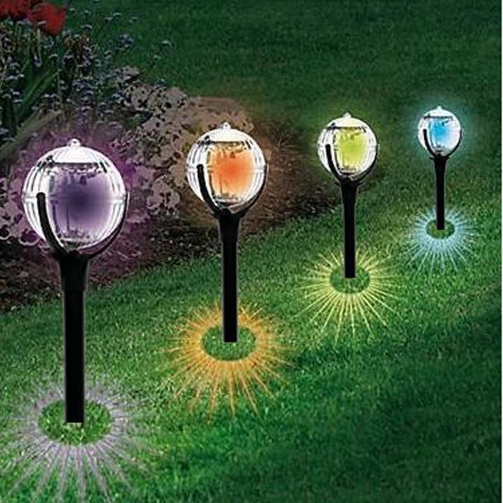 NEW OUTDOOR SOLAR LAWN LIGHT, CREATIVE MAGIC BALL