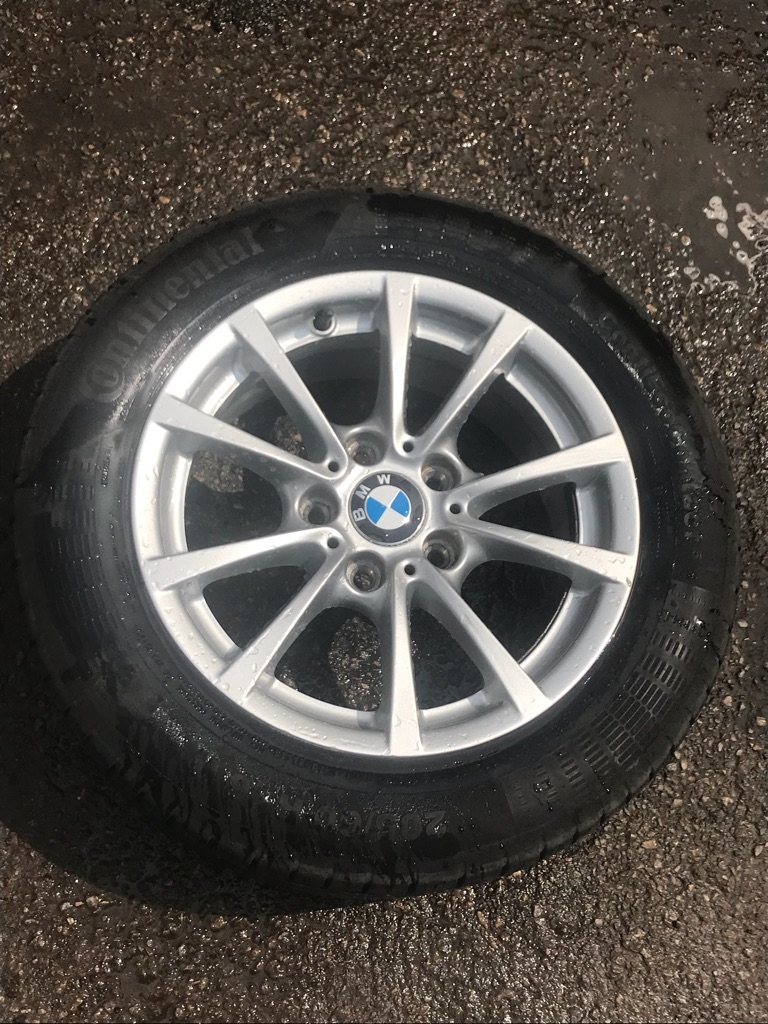 "16"" genuine BMW alloy wheels"