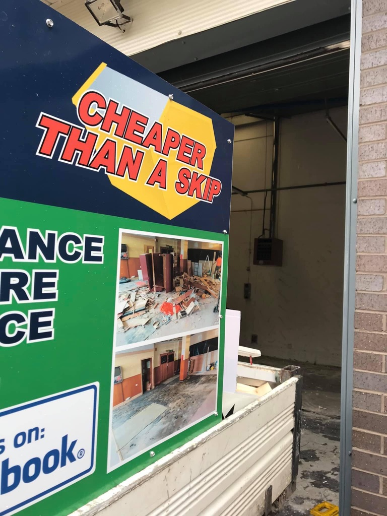 GARAGE AND UNIT CLEARANCES AVAILABLE