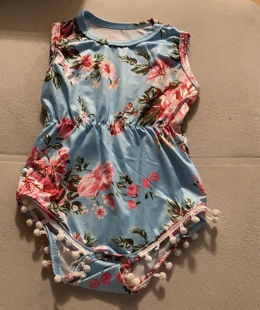 Baby girl bodysuit 12-18
