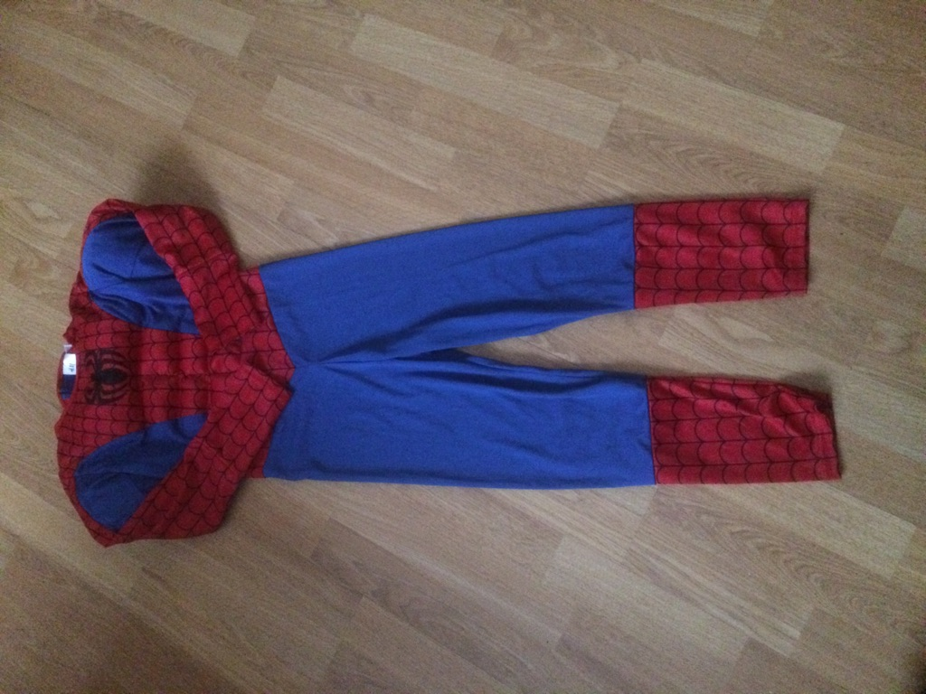 Spider-Man superhero new costume 6/8 years