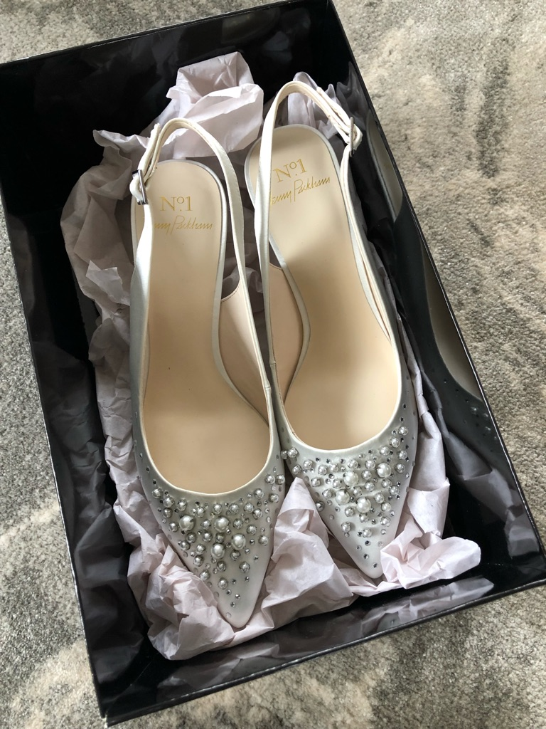 BRAND NEW Jenny Packham Bridal Shoes