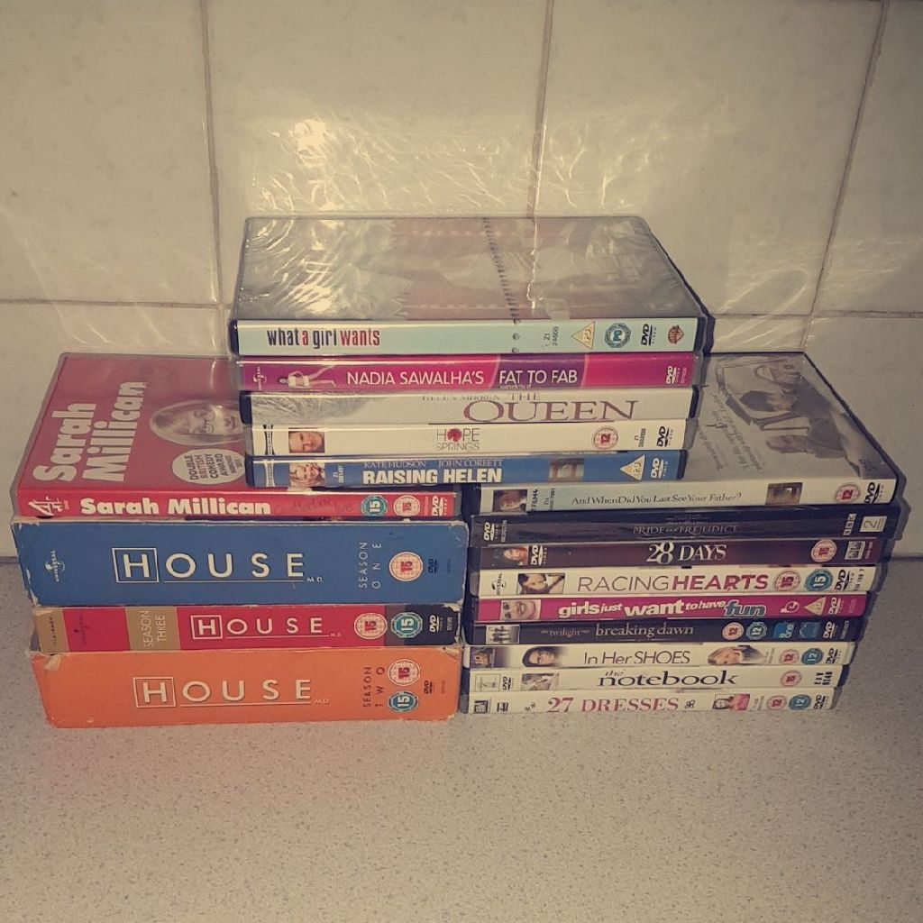 Selection Of Dvds And Box Sets