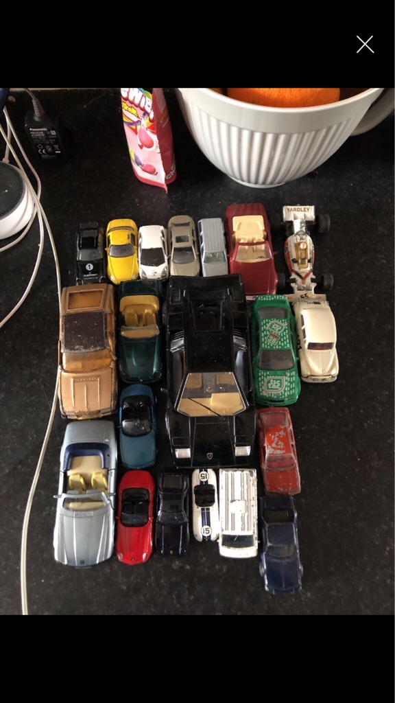 Open to offers: diecast cars